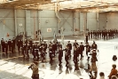 Air Reserve Squadron Standards being paraded to the squadrons under the direction of MWO R. Beard CD of 420 ARS Shearwater.