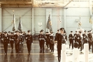 Standards and Escorts advance in review order on completion of the parade.