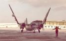 Tracker arrival special flight.